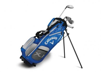 Golfový set Callaway XJ Junior LEVEL 1 modrý