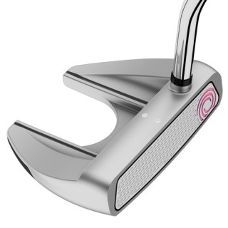 Putter ODYSSEY WHITE HOT RX WOMENS V-Line Fang SUPERSTROKE