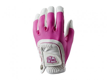 Rukavica dámska WILSON STAFF FIT-ALL pink/white