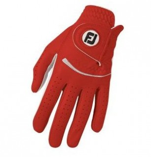 Rukavica FootJoy Spectrum red dámska