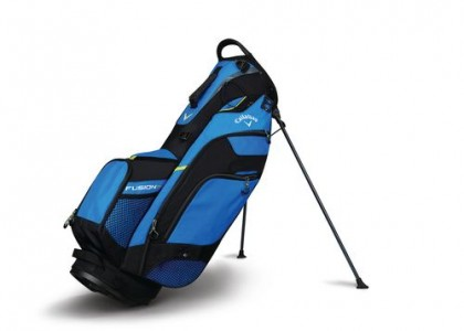Stand bag Callaway FUSION 14 Blue/Black/Yellow