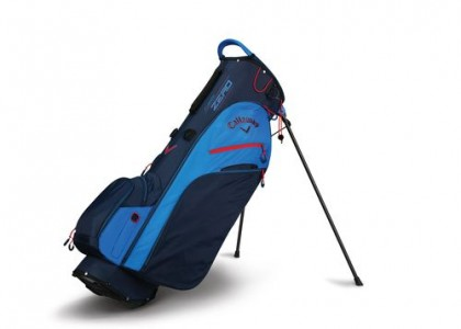 Stand bag Callaway FUSION ZERO Navy/Royal Blue/Red