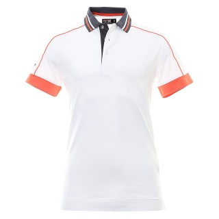 Tričko Callaway Piped Polo White