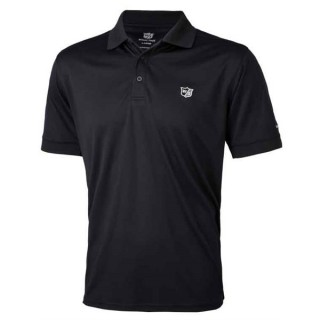Tričko Wilson Staff Authentic Polo Deep Black