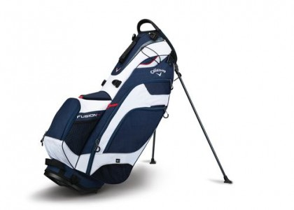 Stand bag Callaway FUSION 14 Navy/White/Red